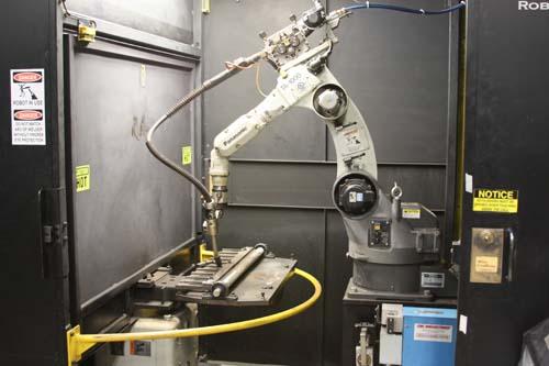 Robotic Welding Unique Precision Metal Stamping
