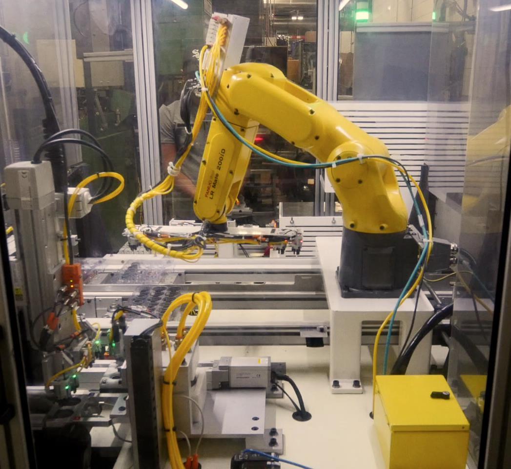 Photo of custom metal stamping machinery